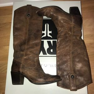 FRYE boots WORN ONCE